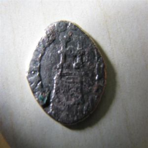 Liard à l'H couronné Henri III 271291445