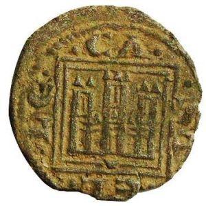 Dedicada a Moinante - Pujesa de Alfonso X (Cuenca, 1281) [Roma nº 209, 5-a] [WM n° 7431] 309780773