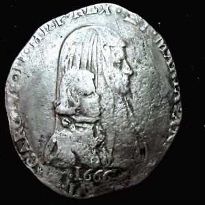 Felipe a nombre de Carlos II de España (Regencia de Mariana de Austria) 313892340