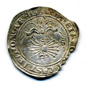 Real de Sevilla a nombre de los Reyes Católicos 324090364
