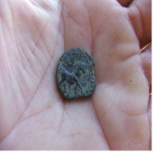 semis de obulco(120-20 a.c.)cabeza de apolo. 336850707
