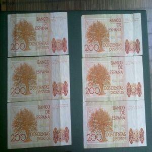 Billetes 200pts  1980 Clarin 374885137