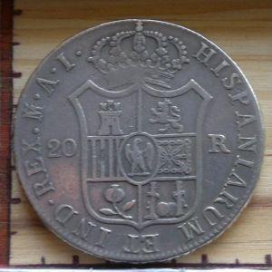 20 Reales 1809 387613300