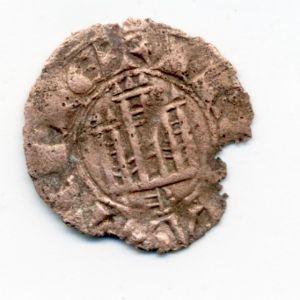 Dinero de Fernando IV (Burgos, 1297) 537468585