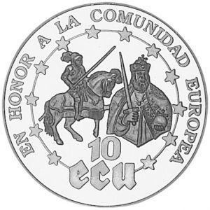 Ecus de Carlos I y 5º de Alemania (y 10 ecu saharauis) 633986499