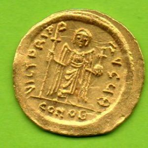 Solido Bizantino de Focas (Constantinopla 9ª oficina,) 713292042