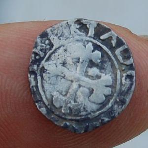 Reino de Portugal - Meio Vintém (10 Reais) de D. Manuel I (1495-1521) 716412360