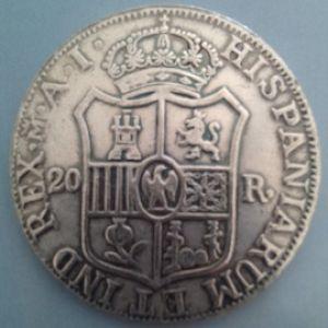 Un lote de monedas falsas, duros, dollares, pesos mexicanos, etc 90786474