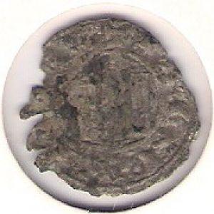 Dinero de Fernando IV (, 1297)  930875684