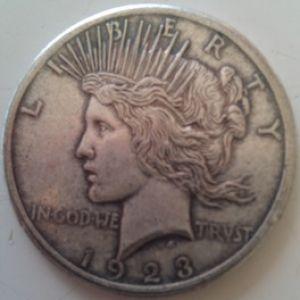 Un lote de monedas falsas, duros, dollares, pesos mexicanos, etc 934796406