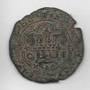 4 Maravedís a nombre de RRCC (Cuenca, 1558-1566) ensayador Pedro Román 938364897