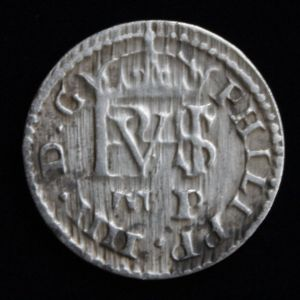 Medio (1/2) Real de Felipe IV (Segovia, 1627) 952393306