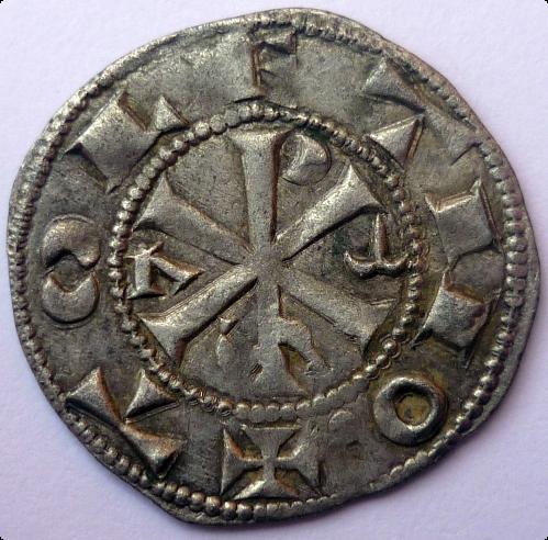 Dinero Alfonso VI - Toledo (1085-1109) [WM n° 8924] 89248230